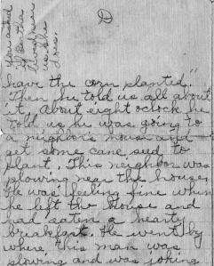 Pg 4 letter-death of Wm N Snelson
