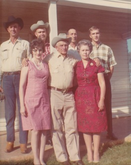 Oct. 1967 Burrell Leatherwood Family