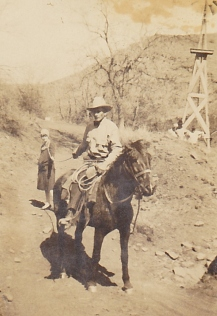 Grandpa roped Marie Stewart Bell