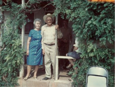 Grandpa & Grandma Leola