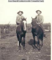 Grandpa & cousin McCurdy