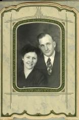 Grandpa and Grandma Leola Leatherwood