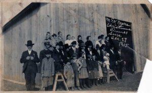 1915 Rogers Christmas Dinner Thanks to Melbie Smith for this picture